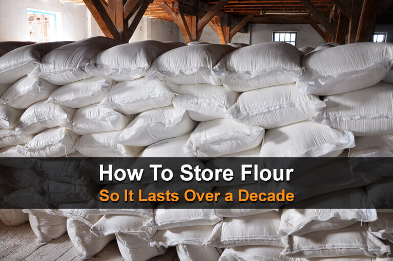 How to Store Flour so it Lasts Over a Decade