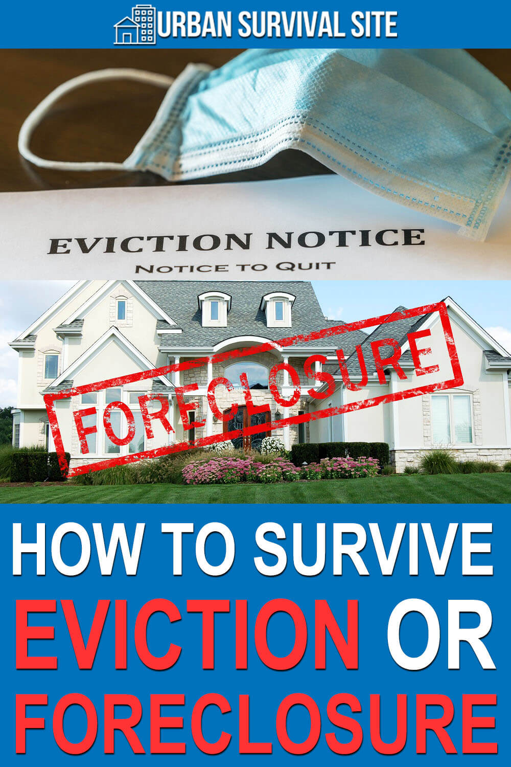 How To Survive Eviction Or Foreclosure