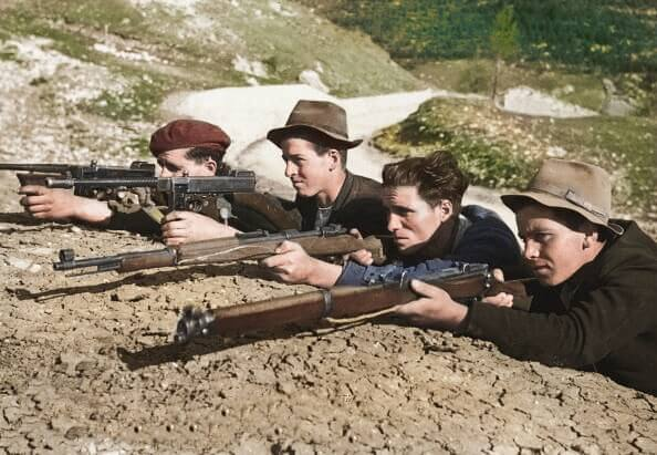 Italian Resistance Fighters