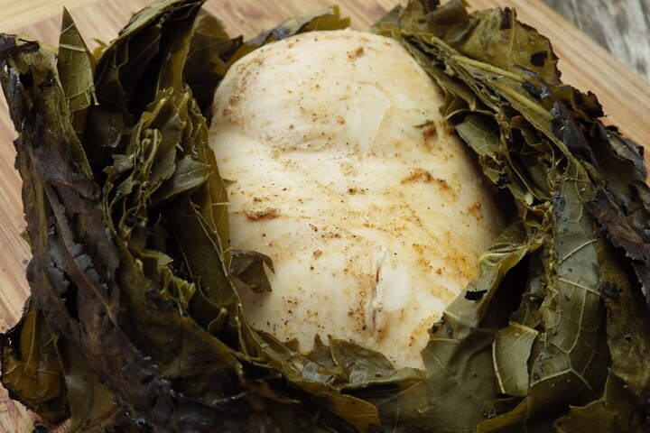 Leaf Wrapped Chicken