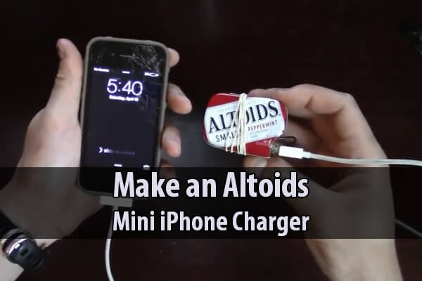 Make an Altoids Mini iPhone Charger
