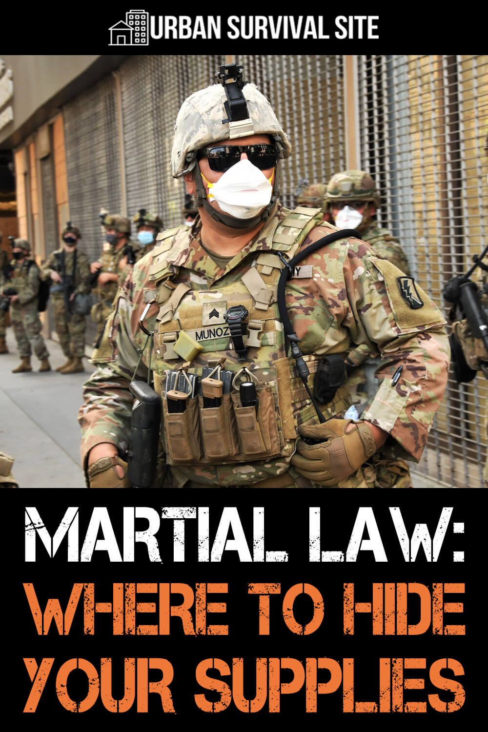 Martial Law: Where To Hide Your Supplies