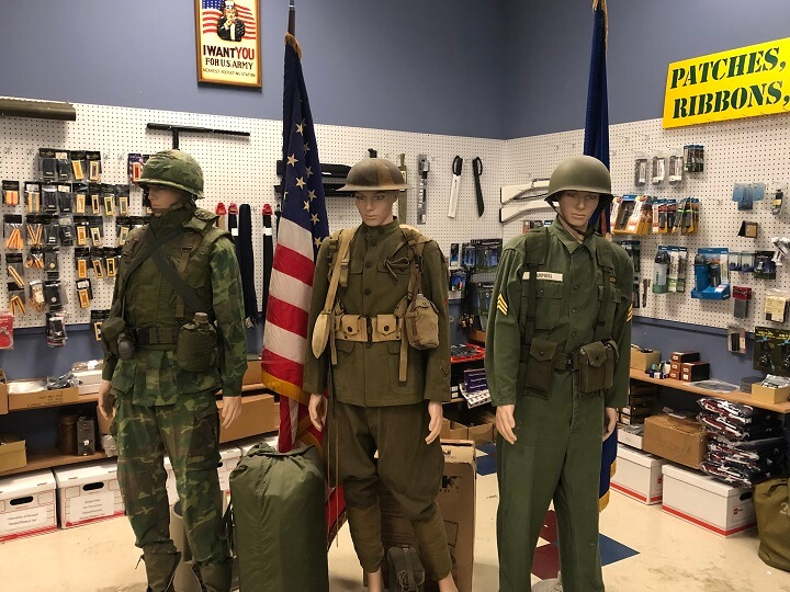 Military Surplus Mannequins