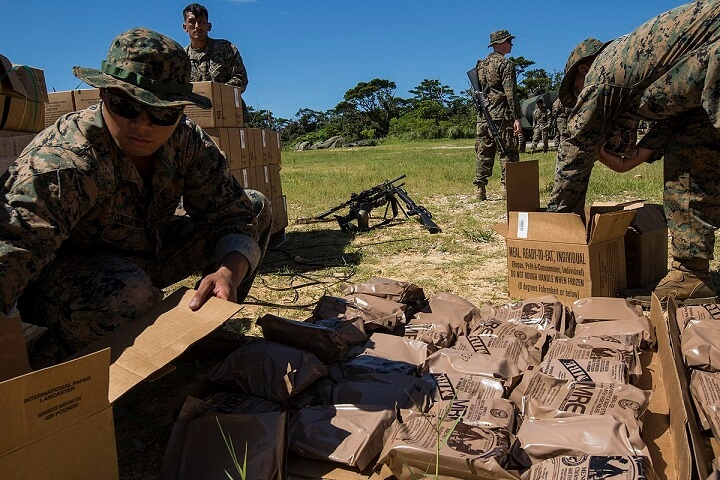 MREs in the Field