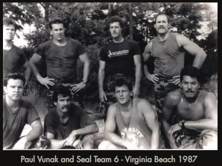 Paul Vunak and Seal TEam 6