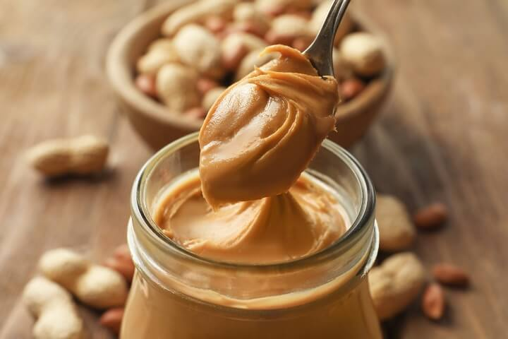 Peanut Butter on a Spoon
