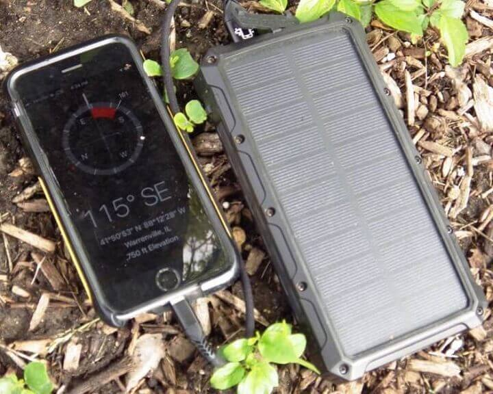 Phone Charging With Solar Panel