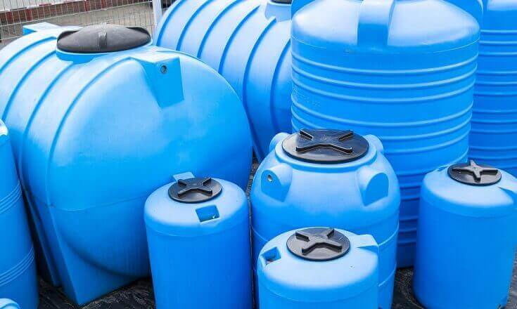 Plastic Barrels for Drinking Water