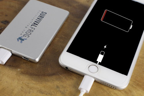 PowerCard Phone Charger