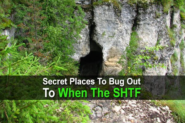 Secret Places To Bug Out To When The SHTF