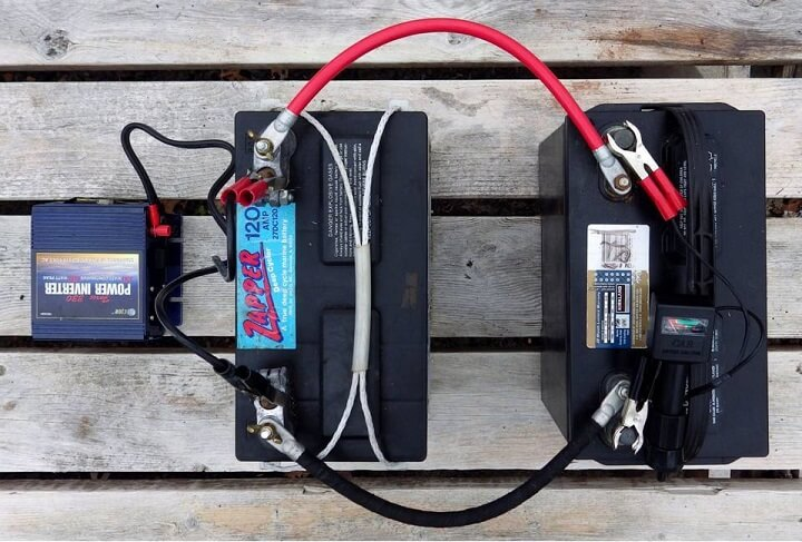 Setting Up A Car Battery Power Bank