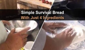 Simple Survival Bread With Just 4 Ingredients