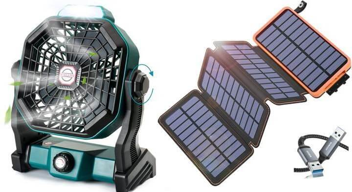 Solar Fan and Panel