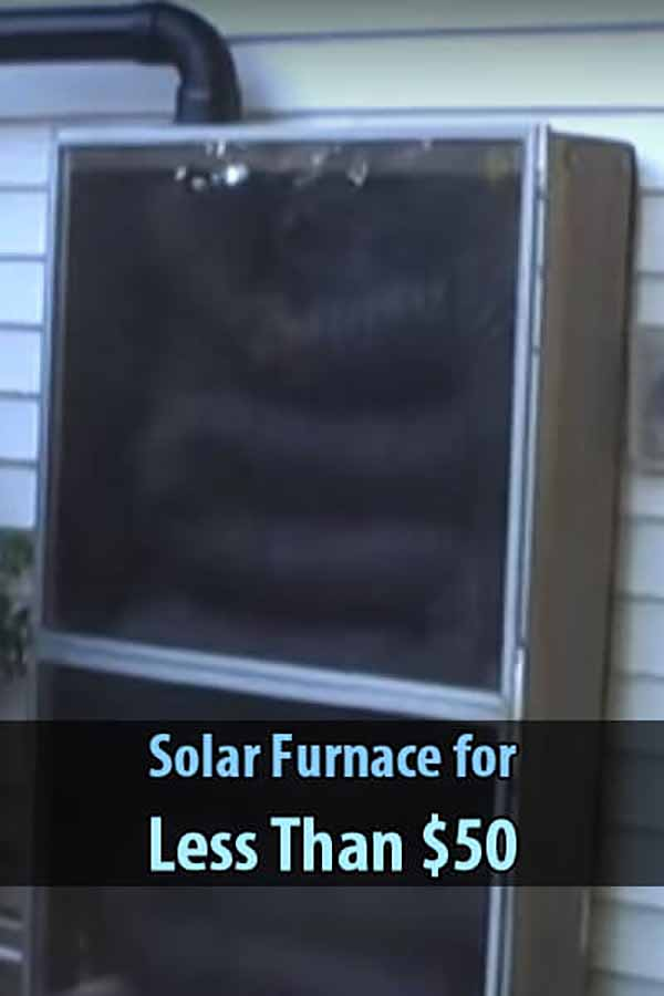 Solar Furnace for Less Than $50
