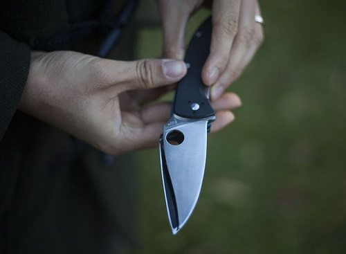 Spyderco Folding Knife