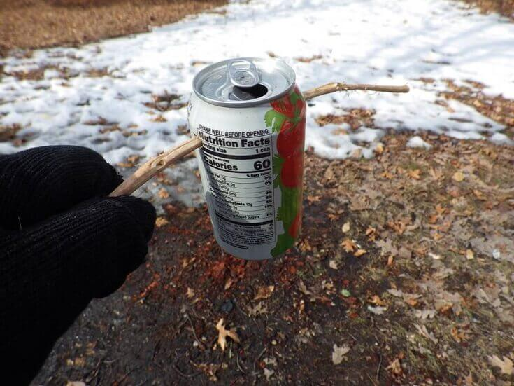Stick to Lift Hot Can