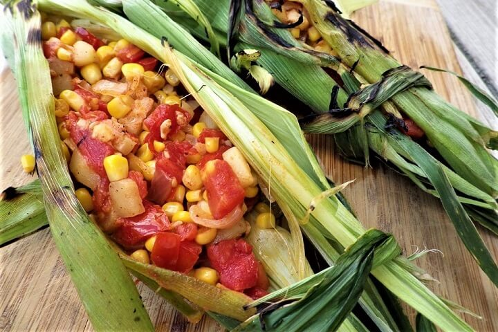 Stuffed Corn Husks