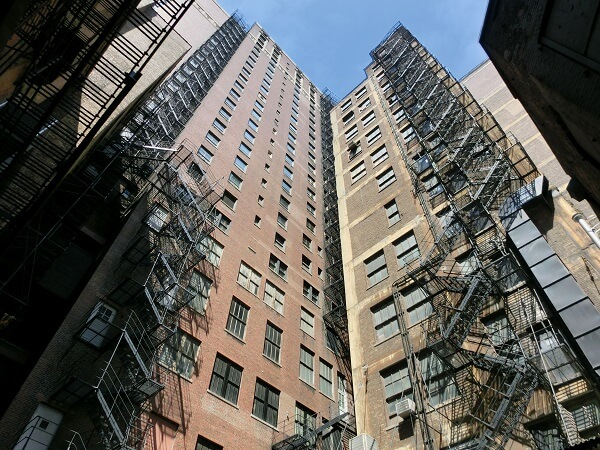 Tall Apartment Building