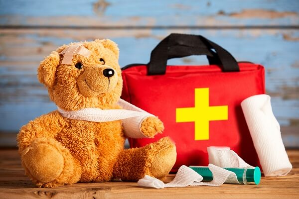 Teddy Bear With First Aid Kit