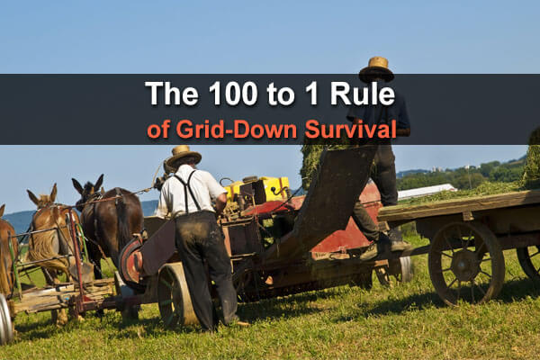 The 100 to 1 Rule of Grid Down Survival