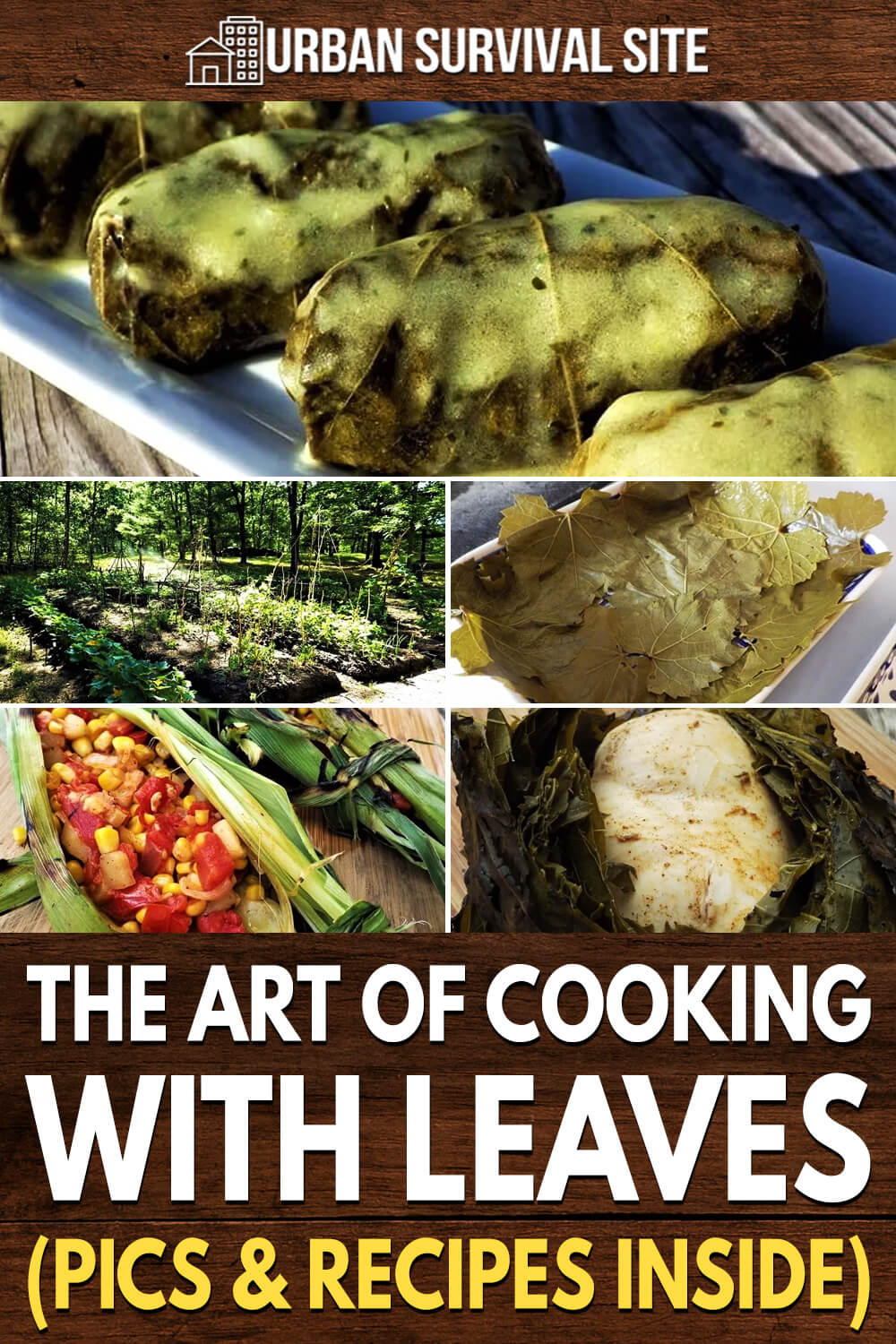 The Art Of Cooking With Leaves