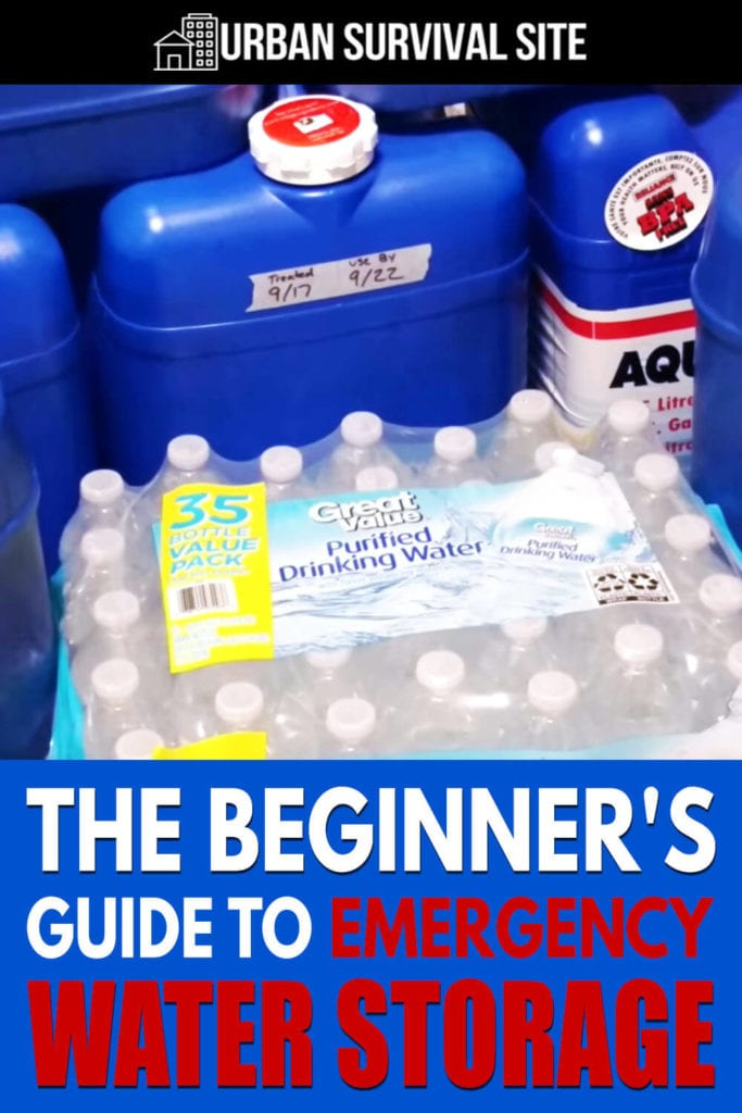 The Beginner's Guide To Emergency Water Storage