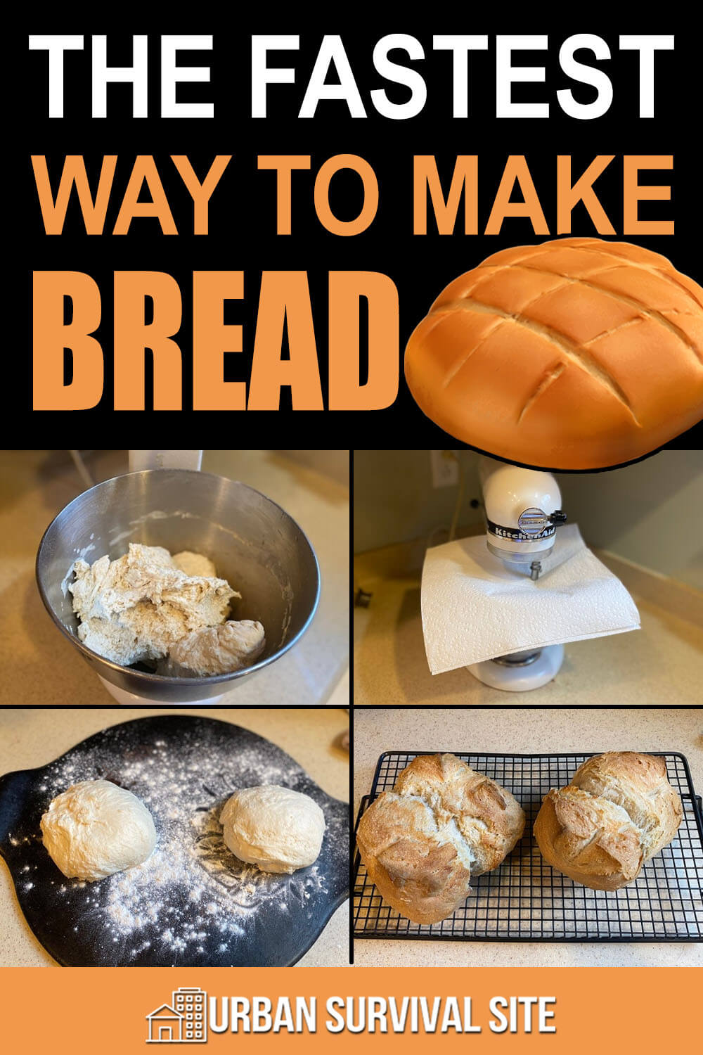 The Fastest Way To Make Bread