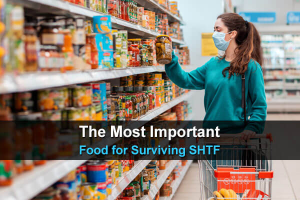 The Most Important Food for Surviving SHTF