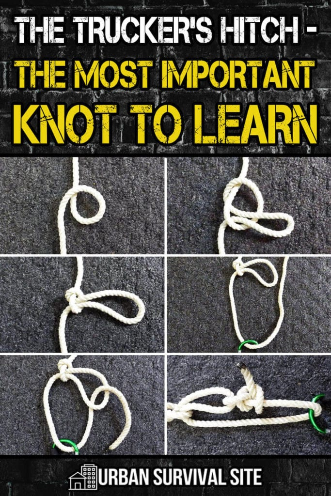 The Trucker's Hitch - The Most Important Knot To Learn