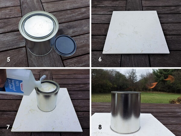 Tin Can Heater Setup Process