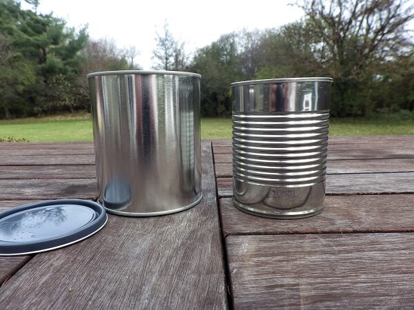 Tin Can Heater With Tin Can Options