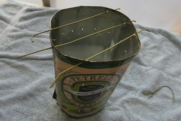 Tin Can Stove step five a