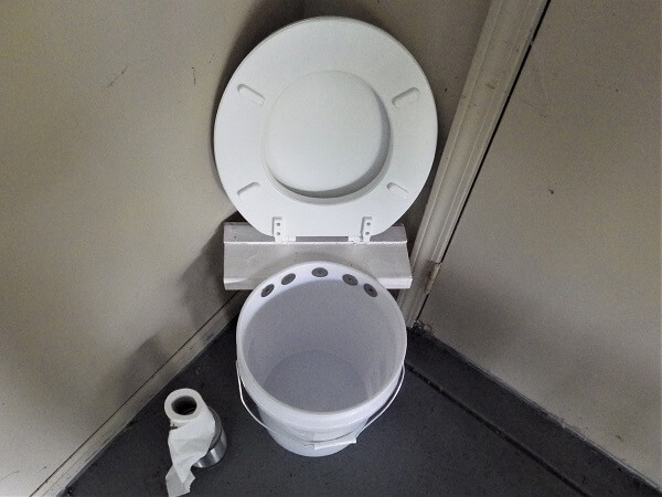 Toilet Both Seats Lifted