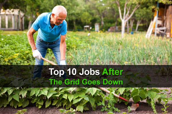 Top 10 Jobs After The Grid Goes Down