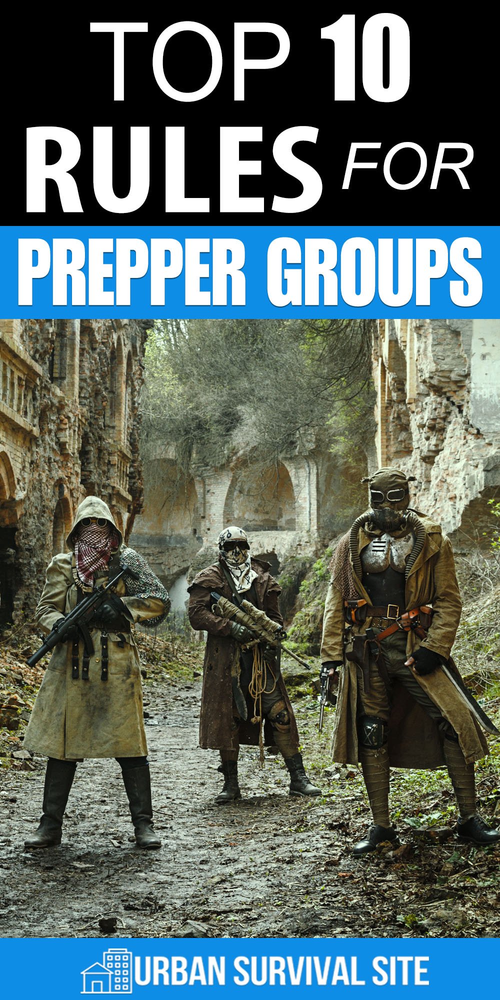 Top 10 Rules for Prepper Groups