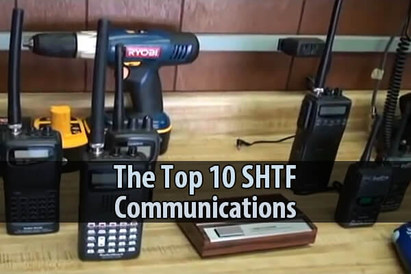 Top 10 SHTF Communications