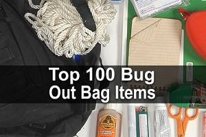 Top 100 Bug Out Bag Items