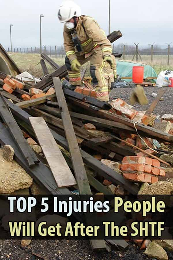 Top 5 Injuries People Will Get After The SHTF
