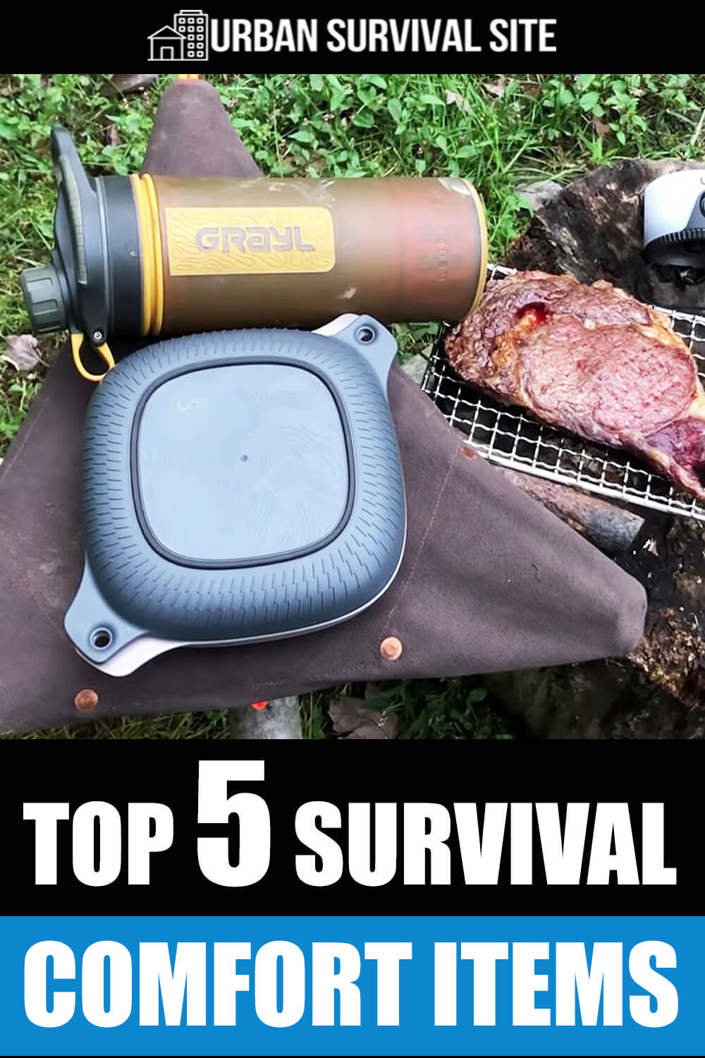 Top 5 Survival Comfort Items