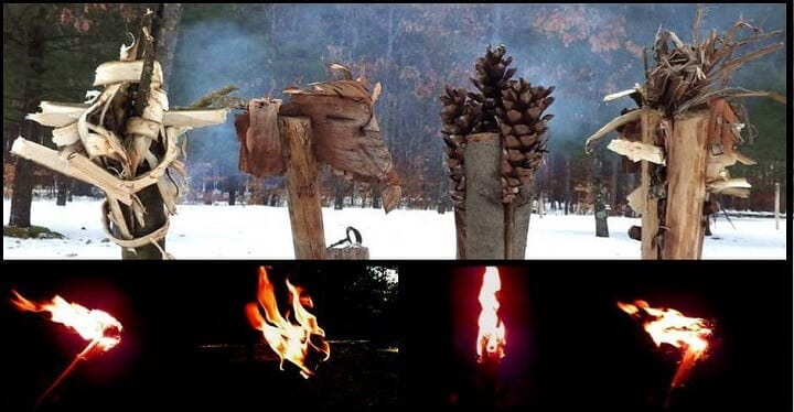 Torches Day and Night