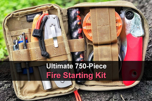 Ultimate 750-Piece Fire Starting Kit