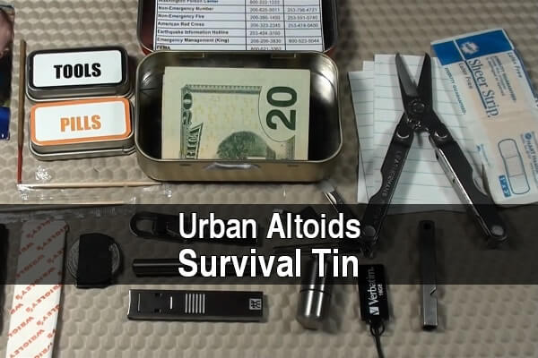 Urban Altoids Survival Tin