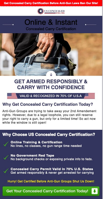 US Concealed Carry Info