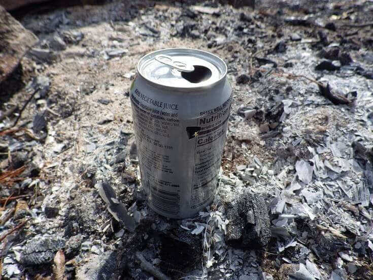 Using Can For Water Purification