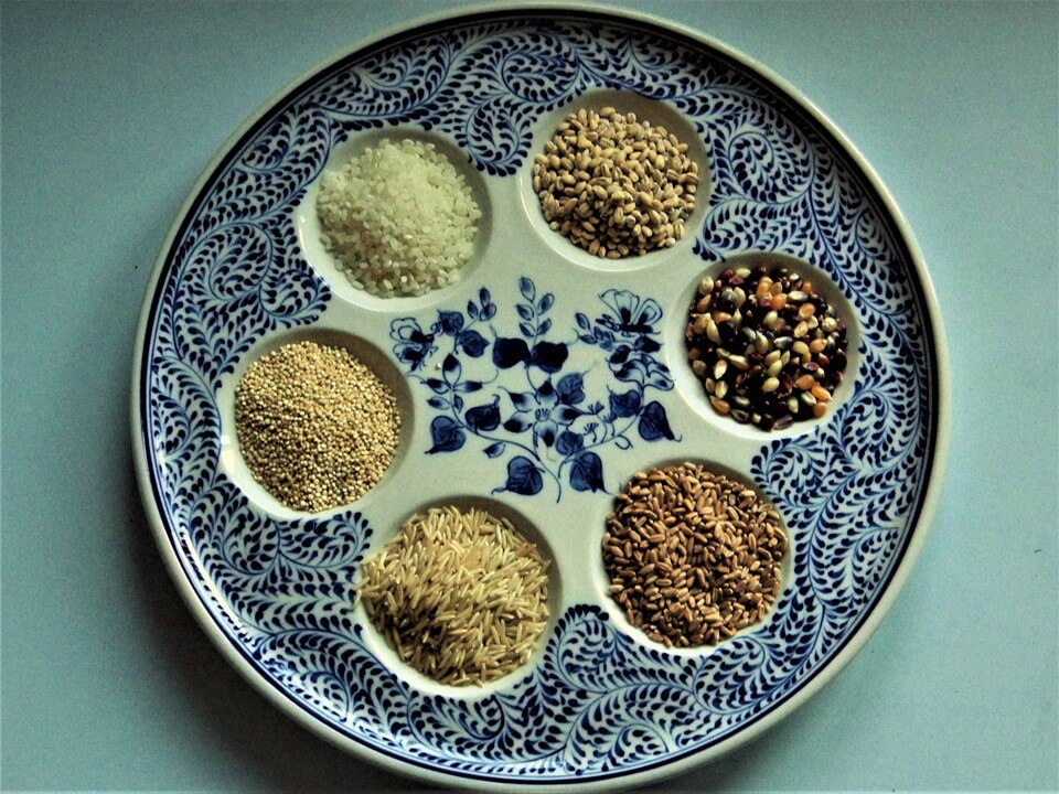 Various Grains and Seeds