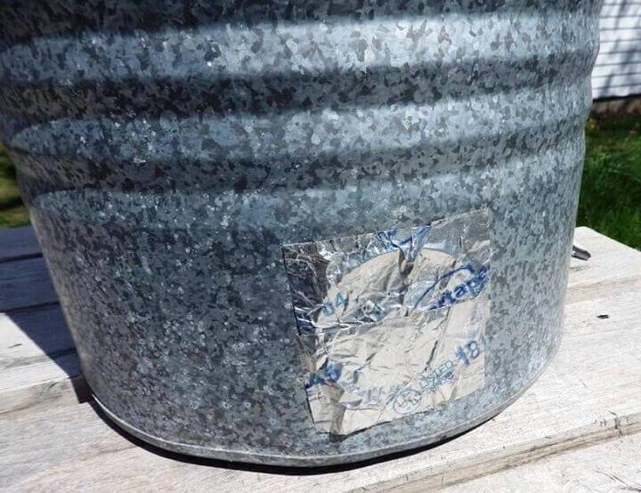 Water Spigot Sealed