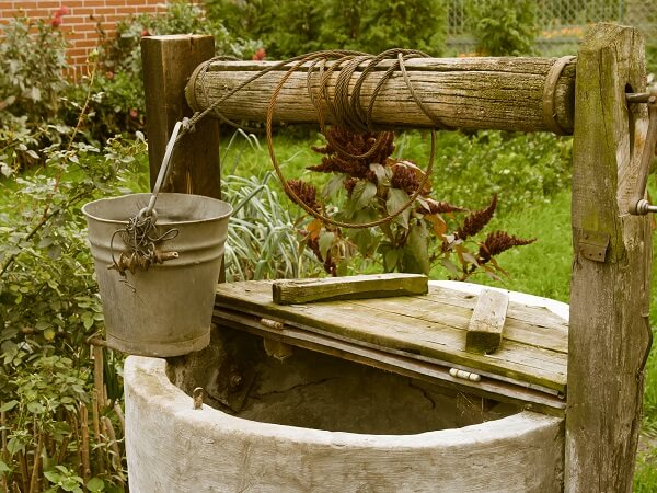 Water Well and Pail