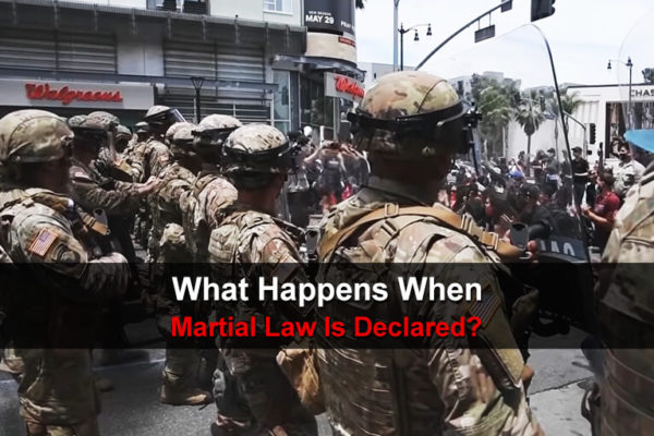 What Happens When Martial Law Is Declared?