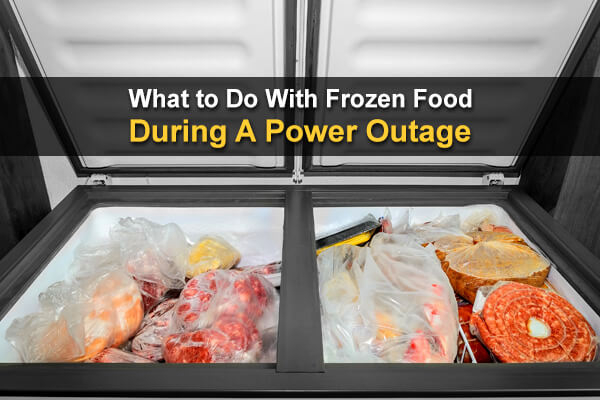 What to Do With Frozen Food During A Power Outage