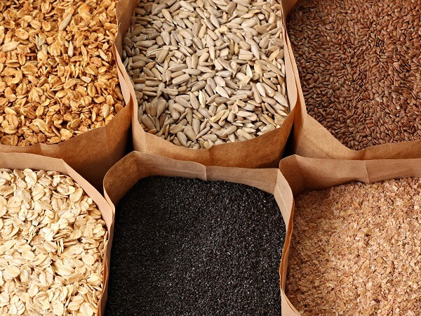 Whole Grains in Bags